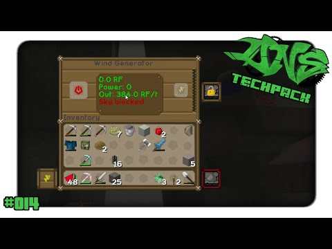 Minecraft DNS Techpack #014 Wind Generator Sky blocked