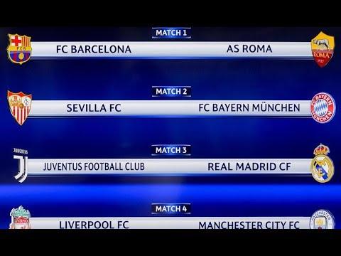 Loquendo/ Sorteo de los cuartos de final de la Champions League ...