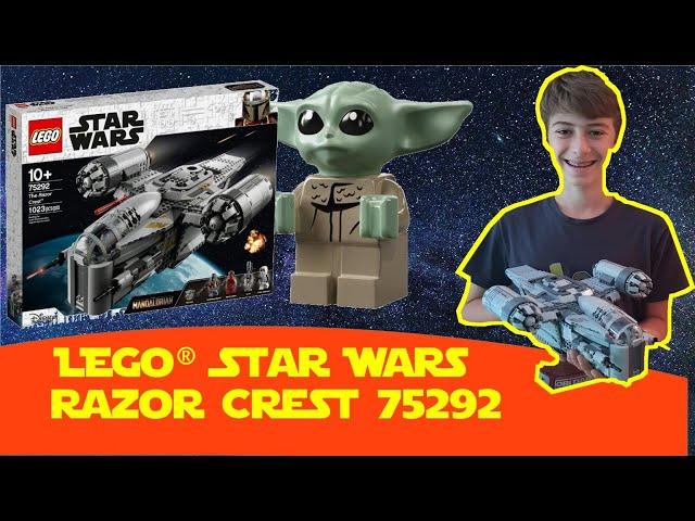 Razor Crest LEGO® Star Wars 75292 (The Mandalorian) Baby Yoda - Transporter des Kopfgeldjägers