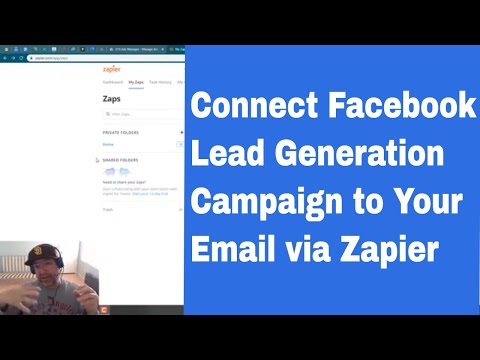 How to Send Leads From a Facebook Lead Generation Campaign to Email Using Zapier