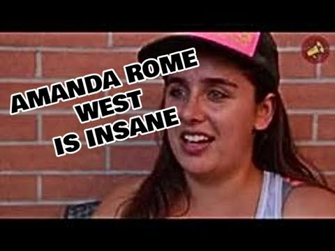 AMANDA ROME WEST IS INSANE (WORSE THAN LIL TAY AND WOAH VICKY) Mp3