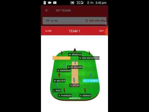TIT VS HL South Africa Premier League T20 in Hindi    By Dream11 guruji