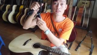 Kết nối đàn guitar với âm ly. Pickup JD2