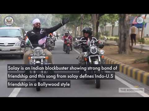 US-India Dosti (A Bollywood style tribute by US Embassy in India on 70 years of India-U.S relations)