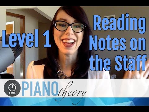 Level 1 Reading Music for Beginners  |  5min Piano Theory Lesson