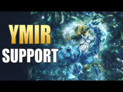 SMITE: Ymir Support Gameplay   Trying Double Jungle! (Season 5 PTS)