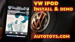 Volkswagen VW Jetta IPOD AUX, Ipod, Android adapter by Grom / Autotoys.com