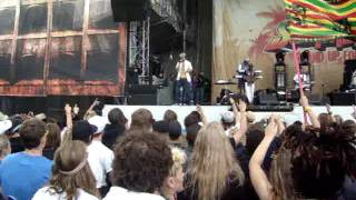 Ziggi Recado - Blaze it live @ Summerjam 2011