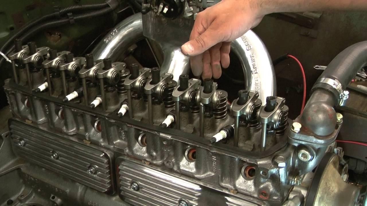 Lash hydraulic valves Chevy 250 292 Inline 6 cylinder