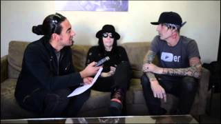 MOTLEY CRUE INTERVIEW with TOMMY LEE AND MICK MARS