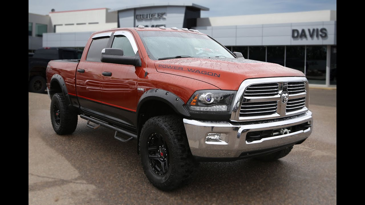 Pre owned 2013 RAM 2500HD Power Wagon for sale in Medicine Hat AB
