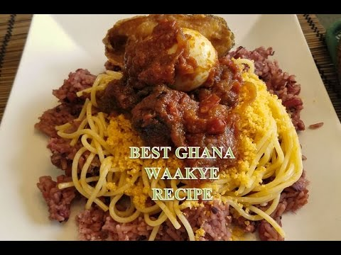 How to make the BEST Ghana Waakye aka Rice & Beans