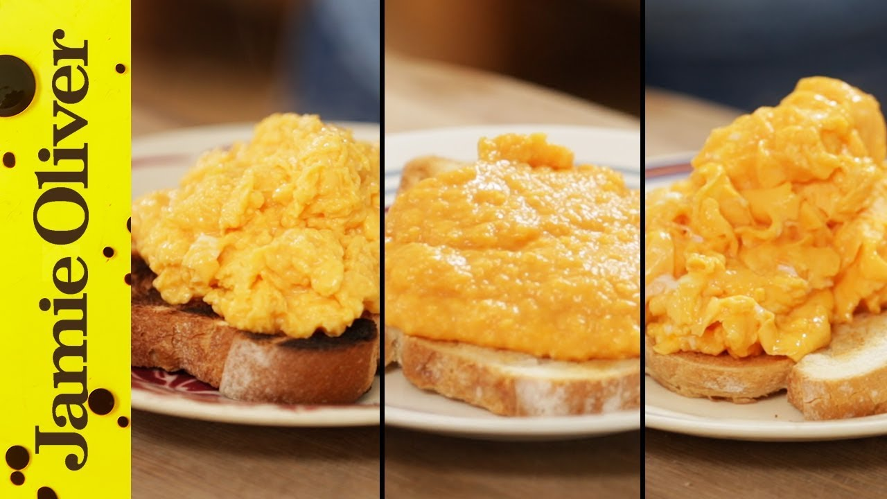How To Make Perfect Scrambled Eggs , 3 ways