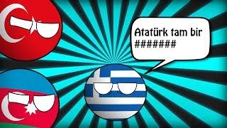 Yunanistan Atatürk'e Küfür Ediyor ! - Countryballs Animasyonu [10 KASIM ÖZEL]