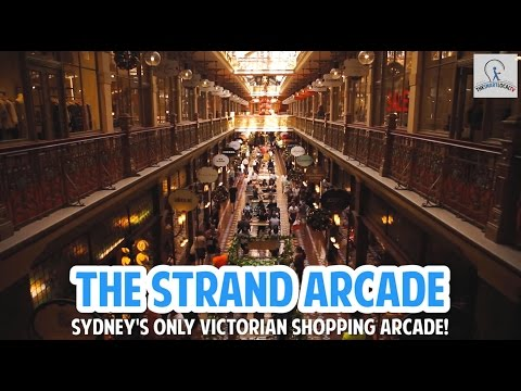 The Strand Arcade: Sydney's Only Victorian Shopping Arcade