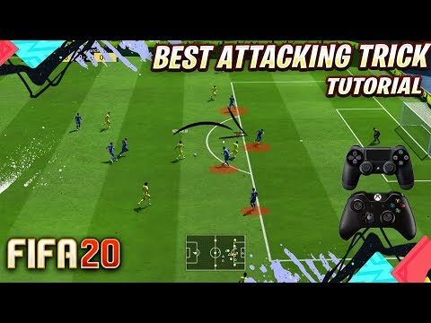 FIFA 20 BEST ATTACKING MOVE TUTORIAL - THIS EASY TRICK WILL DESTROY ANY DEFENCE !!!! thumbnail
