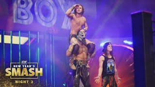 Was FTR Able to Defeat the Jurassic Express?   AEW New Year's Smash Night 2, 1/13/21