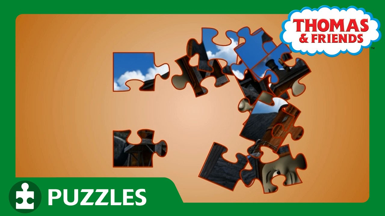engine puzzle 26 puzzles thomas friends youtube