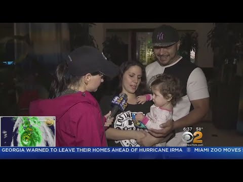 Florida Family Flees Ft. Lauderdale Home To Escape Irma's Devastation