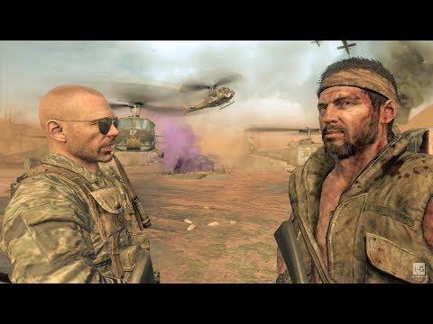 Vietnam War - Military Base Defense - S.O.G. - Call Of Duty: Black Ops