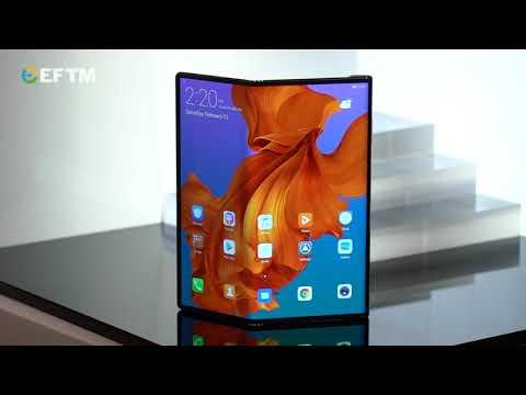 First Look: Huawei Mate X Folding smartphone