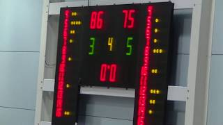 9 november 2019 Rowic MSE2 vs Rivertrotters MSE2 86-75 4th period