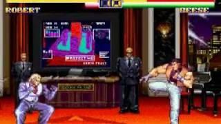 龍虎の拳2 - 対COMギース戦