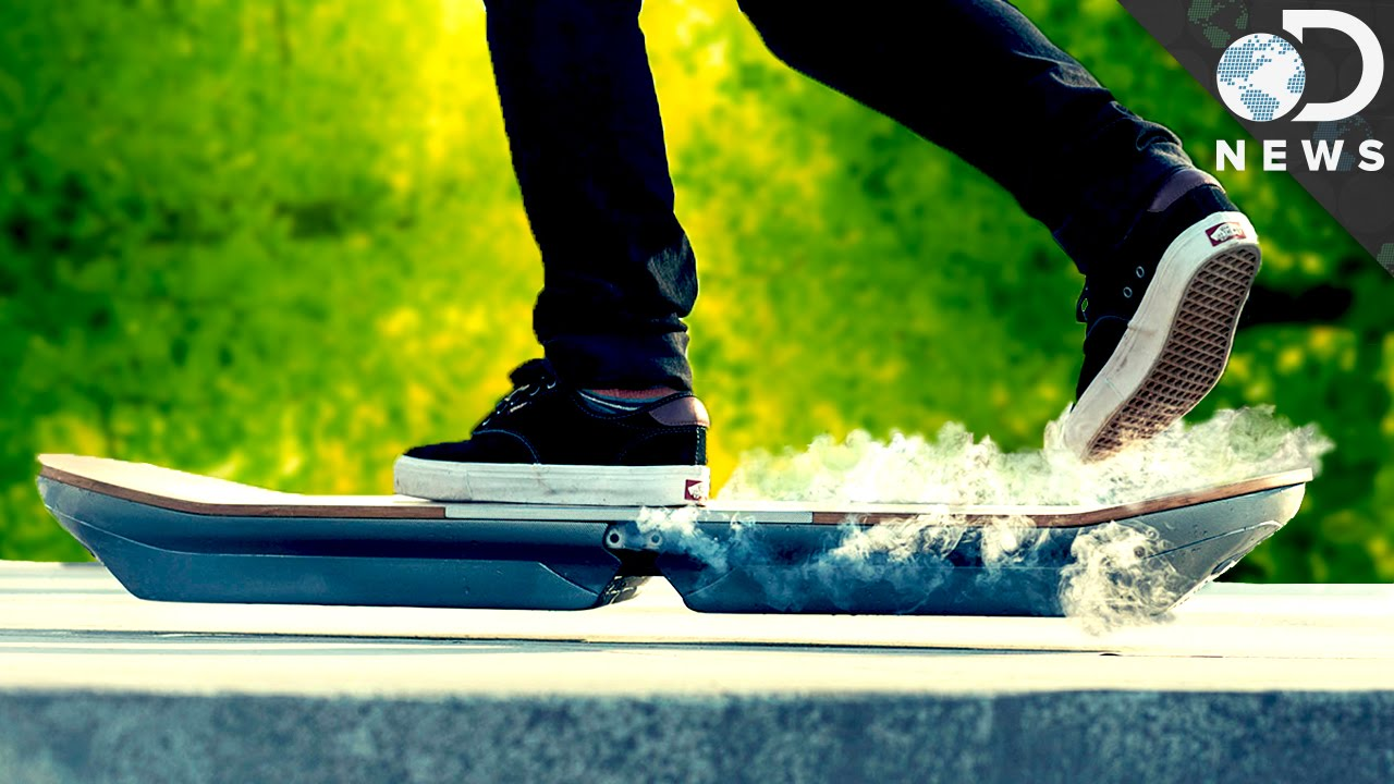 Real Working Hoverboard How Does This Hoverboard Work Youtube
