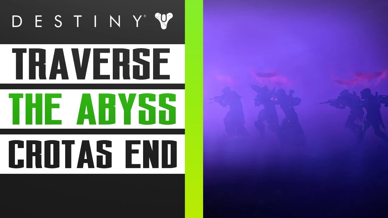 Destiny Dance Gif: How To Beat Traverse The Abyss In Crotas End