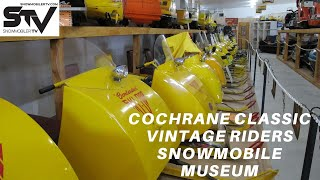Cochrane Classic Vintage Riders Snowmobile Museum