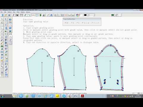 Richpeace cad software copy grading value youtube for Copy cad