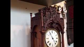 Rare S. Kammerer Tinplate Shelf Cuckoo Clock! Better Then Beha!