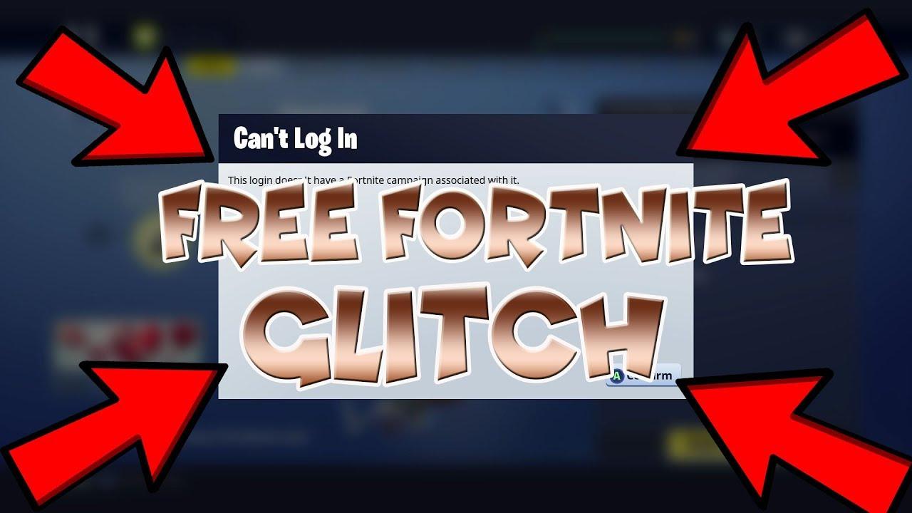 fortnite save the world free glitch