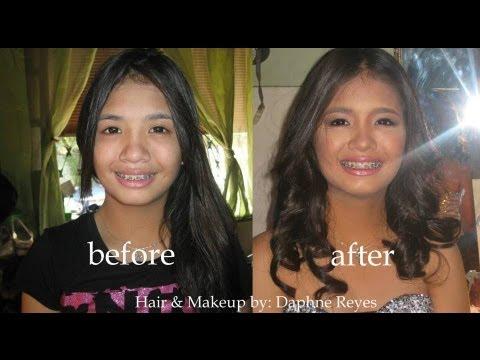Part 1 Junior Senior Promenade Makeup Tutorial Youtube