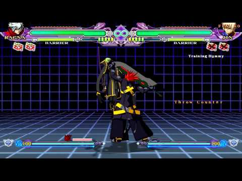 BLAZBLUE CONTINUUM SHIFT EXTEND (Me goofing off and testing stuffs) |