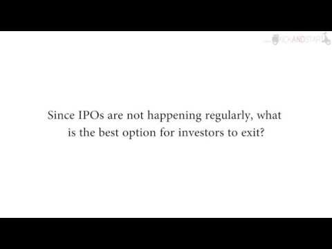 Exit Options For An Investor Apart From IPO