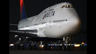 Delta Airlines Boeing 747-451 [N669US] - Last US Domestic 747 Flight From LAX