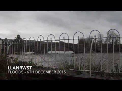 Llanrwst Floods 2015