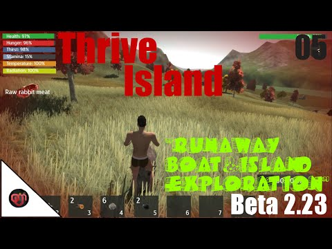"Thrive Island Beta 2.23 ""Runaway Boat and Island's Exploration"""
