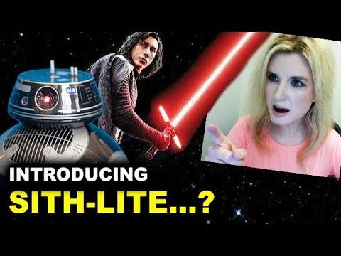 BB-9E & Kylo Ren - Star Wars The Last Jedi