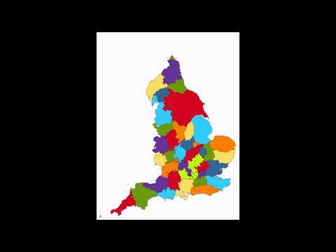 Traditional Counties of England