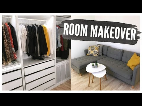 ROOM MAKEOVER // WALK-IN CLOSET