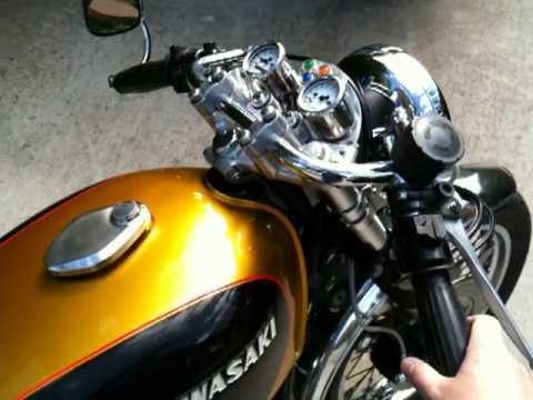 Kawasaki Z650 Cafe Racer Finished
