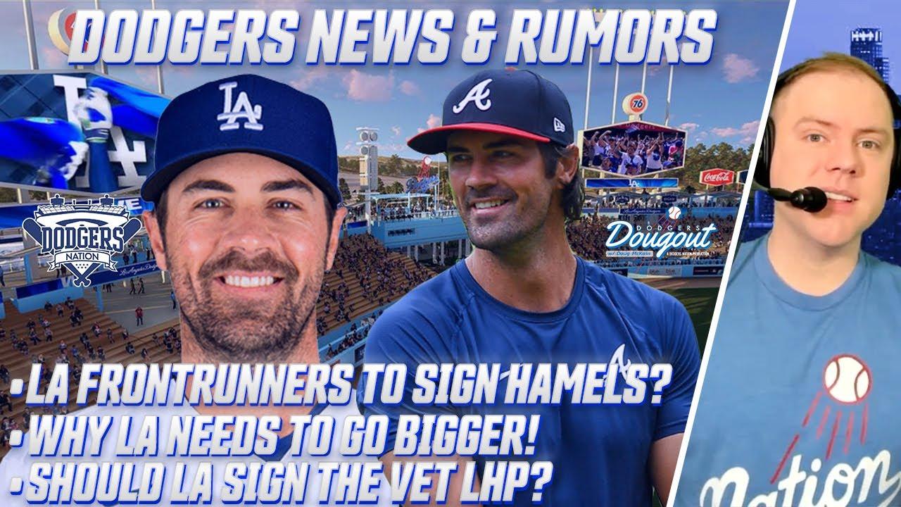 Dodgers sign four-time All-Star Cole Hamels - Dodger Insider