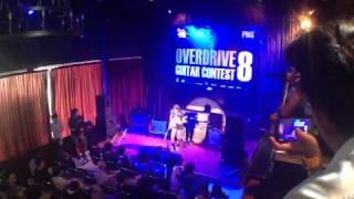 Cockroach steps @Overdrive guitar contest 8 semi final round