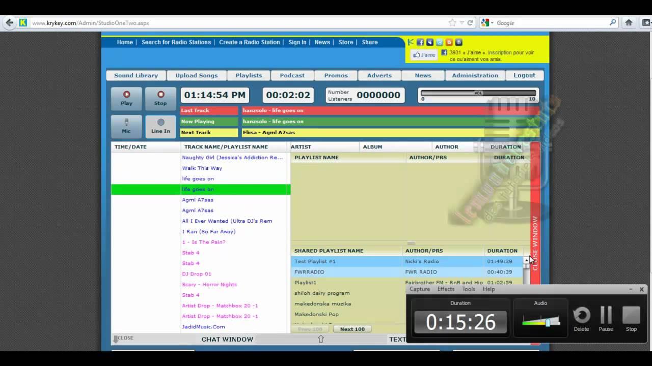 Comment creer une radio qui tourne 24sur24 sur son site for Ouvrir une porte avec une radio