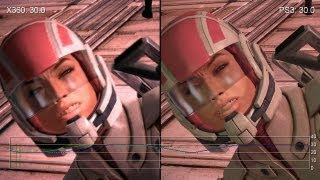 Mass Effect (Original) PS3 vs. Xbox 360 Like-For-Like Frame-Rate Tests