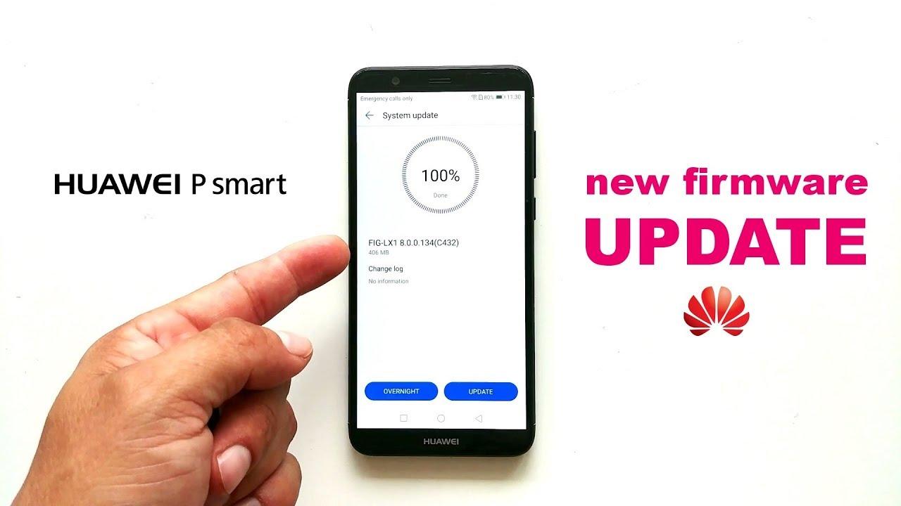 Huawei P Smart new firmware update (8 0 0 134)