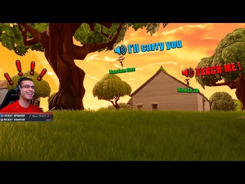 Random Duos with a kid...but he\'s basically a Pro!