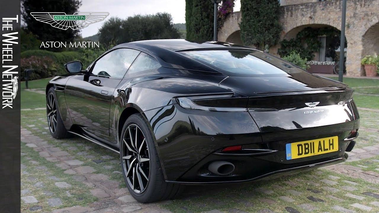 2018 Aston Martin Db11 V8 Onyx Black Exterior Interior Youtube